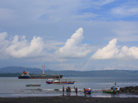 The Fishermen in Sta.Ana Wharf Davao City