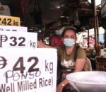 A Lady at the Market in the Philippines