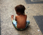 A Little Child in Chinatown, Manila