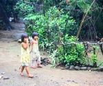 Children Walking in Infanta