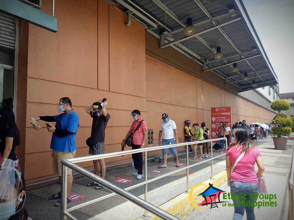 People visit Andres Bonifacio Monument in Manila