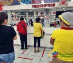 people buying medicine