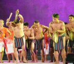 Abreños Performing Tani, A Tingguian Courtship dance